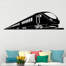 Free Shipping Train Personalized Wall Sticker Wall Decal Boys Rooms Removeable Vinyl Wall Sticker Home Decor Mural colorful toys removeable wall sticker