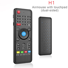 Air Mouse Universal TV Remote Control with Backlight Touchpad Mini Wireless Keyboard Controller for Android TV Box PC LG Samsung