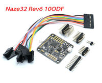 нейз 32 naze32 теперь 6 ДОФ 10dof с Мэг и баро сенсор rev6 черные прямые контакты сбоку + чехол для горючего