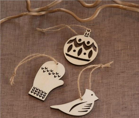 3 Pcs/ wood cutout bird/Christmas/hanging home decor/party/festival//birthday/mini/cute/craft banner/wall art/pd060