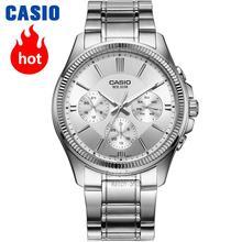 847ad1871 كاسيو ساعة التناظرية للرجال كوارتز ساعة رياضية عادية بسيطة للماء ووتش  MTP-1375