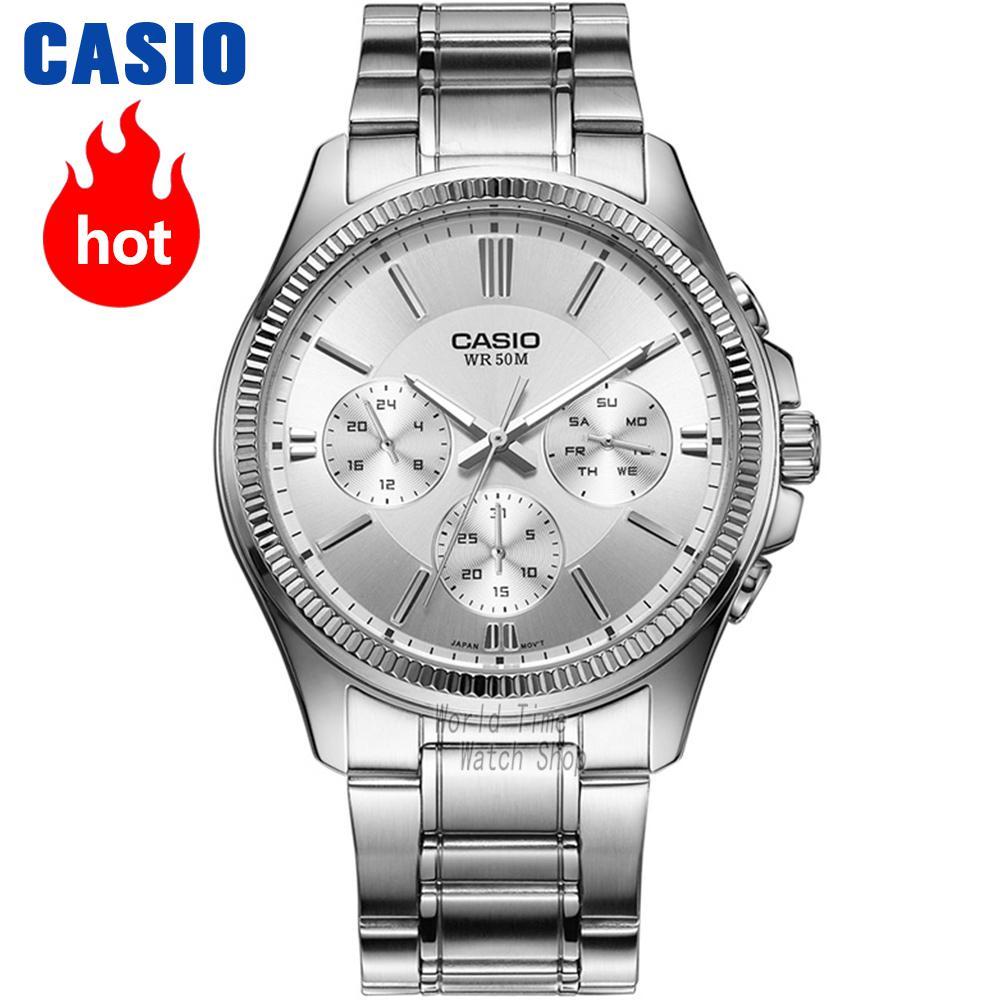 Zegarek na rękę Casio mężczyźni top marka luksusowy zegarek kwarcowy Wodoodporny zegarek Luminous mężczyźni Sport zegarek wojskowy relogio masculino reloj hombre erkek kol saati montre homme MTP 1375 w Zegarki kwarcowe od Zegarki na  Grupa 1