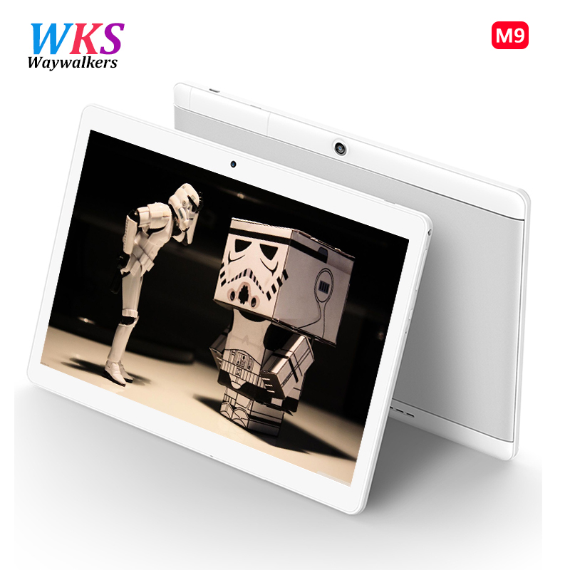 Way Walkers Store Hot New Tablets Android 6.0 Octa Core 64GB ROM Dual Camera and Dual SIM Tablet PC Support OTG WIFI GPS 4G LTE bluetooth phone