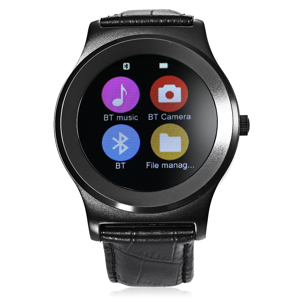 NEECOO V3 Bluetooth 4.0 Smart Watch MTK2502C 1.3inch Screen Heart Rate Monitor Pedometer Music for iOS Android SmartWatch цена