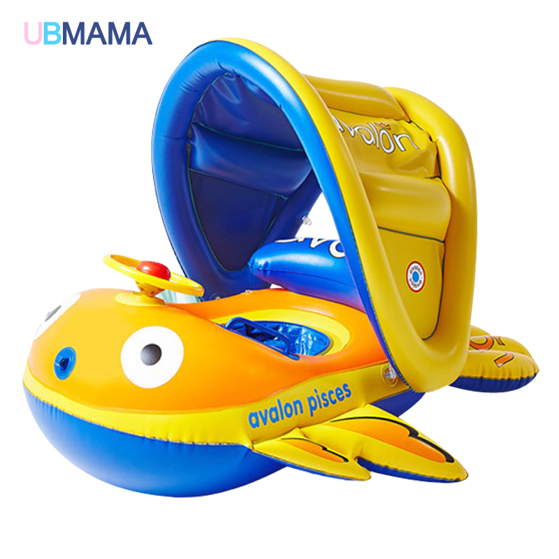 Здесь можно купить  2016 Safety Baby Infant Swimming Float Inflatable Adjustable Sunshade Seat Boat Ring Swim Pool A212 2016 Safety Baby Infant Swimming Float Inflatable Adjustable Sunshade Seat Boat Ring Swim Pool A212 Детские товары