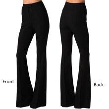 Slim Flare High Waist Wide Leg Trouser