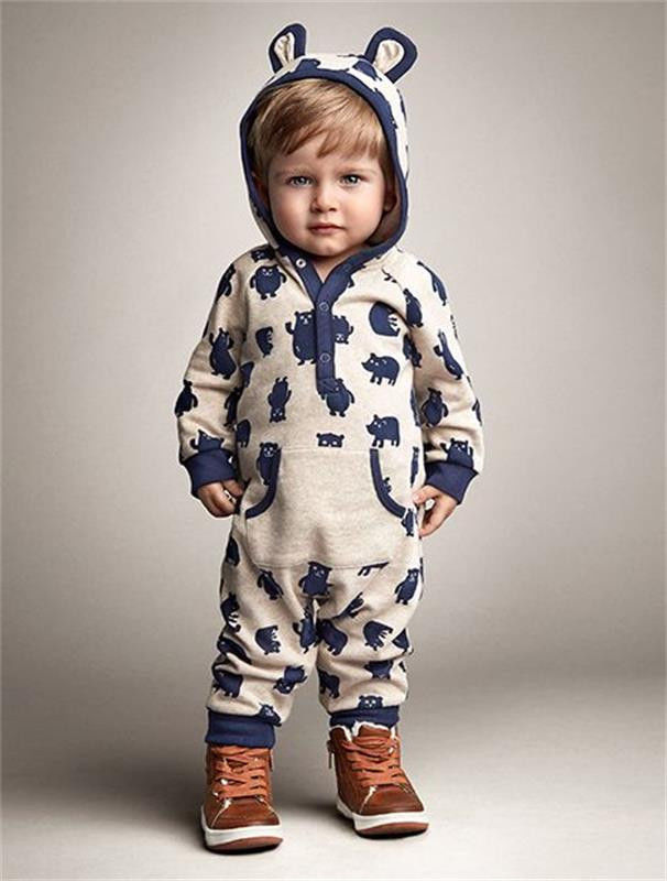 2016 children autumn winter clothes newborn infant baby boy girl kids cotton romper jumpsuit. Black Bedroom Furniture Sets. Home Design Ideas