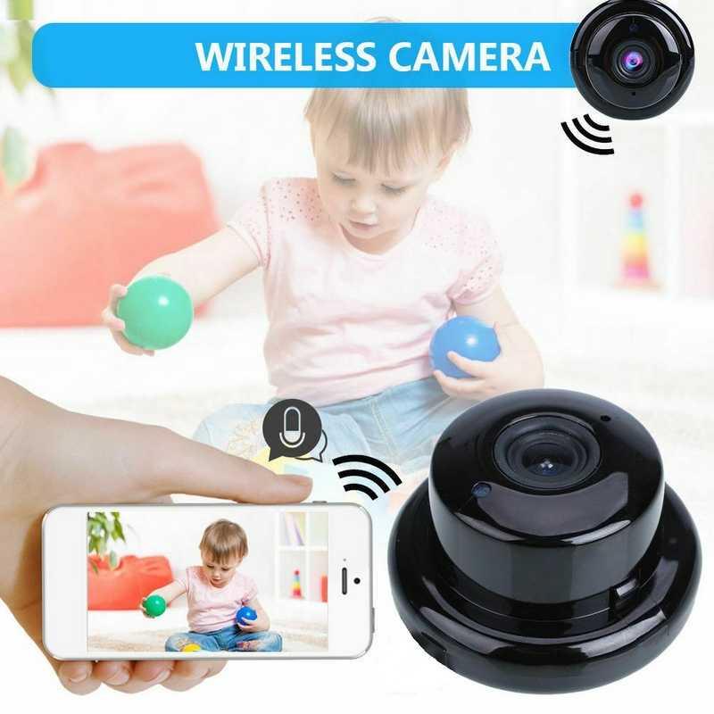 120 шт. оптовая продажа Беспроводной IP Камера 720 P HD wifi Мега P2P радионяня мини