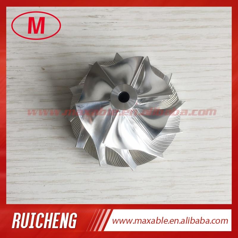 GT15-25 44,42/59,48 мм 6 + 6 лезвий 702549-0008 эффективная турбозаготовка/Фрезерование/алюминиевый компрессорный круг 2024 для 724483-0003/05