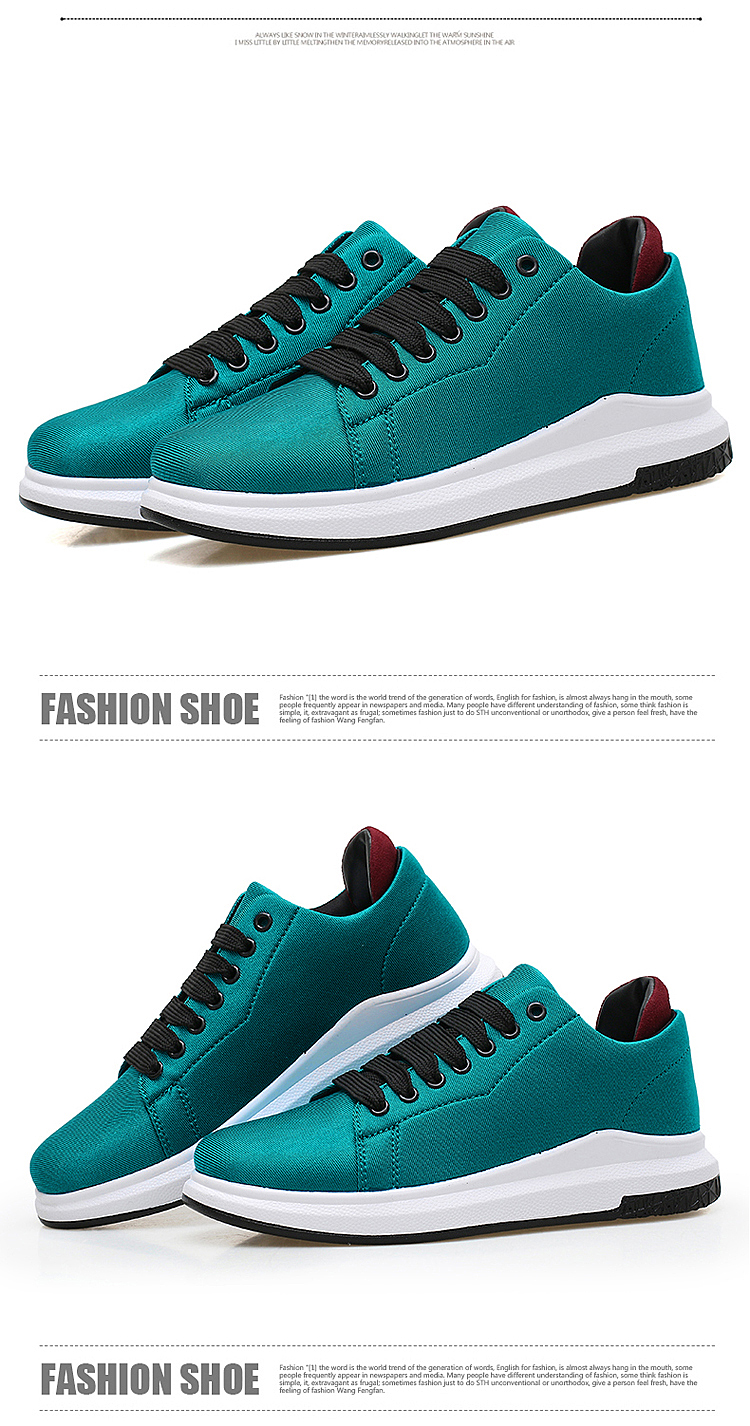 Stretch Fabric Casual Shoes Woman 2017 Fashion Spring Lace Up Ladies Shoes Breathable Women\'s Vulcanize Shoes Superstars ZD68 (35)