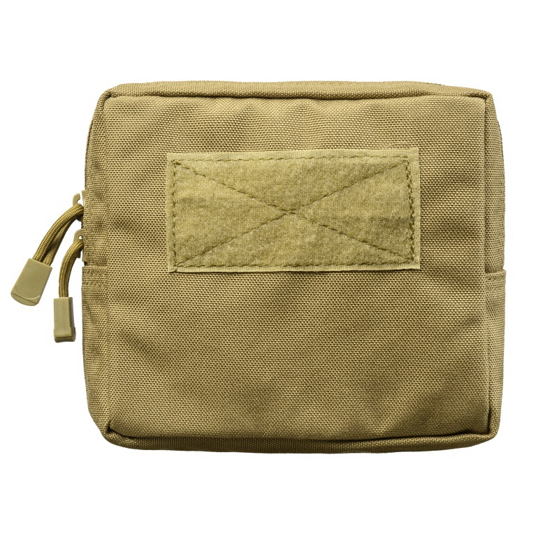 Outdoor 1000D Nylon Military Tactical Waist Bag Multifunctional EDC Molle Tool Zipper Waist Pack Accessory Pouch