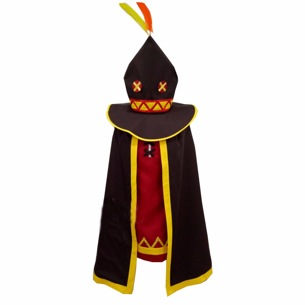 2018 Kono Subarashii Sekai ni Shukufuku wo Megumin униформа для косплея на заказ любой размер