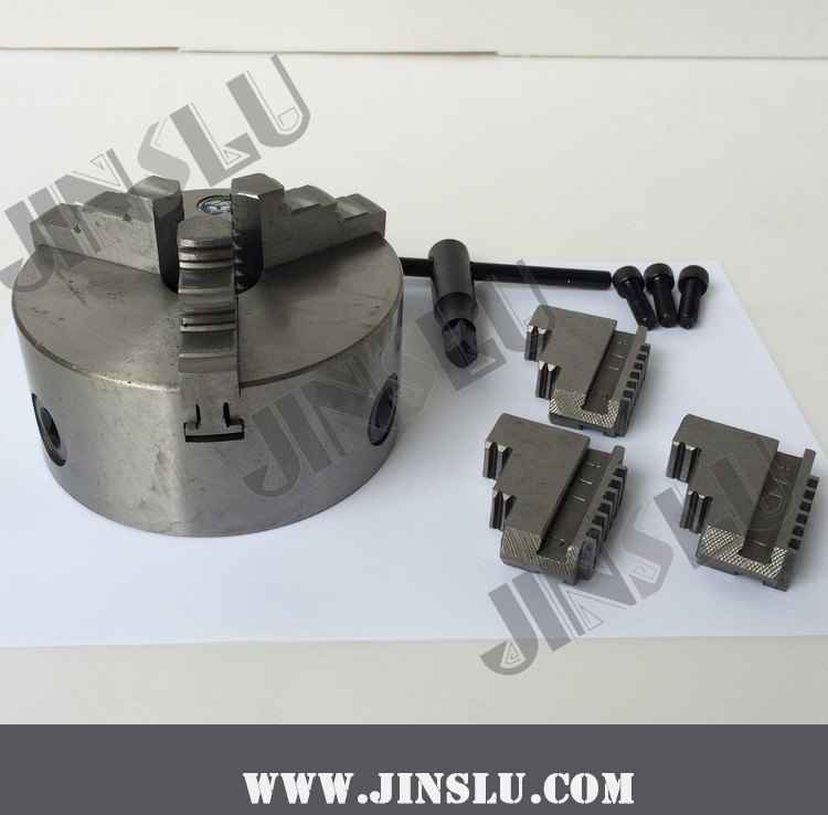 Self-centering Manual 3 jaw Lathe Chuck K11-125 3 jaw lathe chuck k11 125 125mm manual self centering m8 for welding positioner turntable bench top lathe accessories