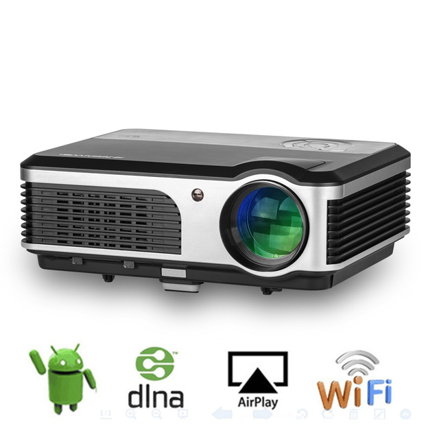 LED Projector Android Wifi wireless connection Home Theater ...