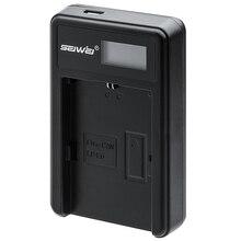 SEIWEI LP-E6 Литий-Ионный Аккумулятор Цифровая Фотокамера Зарядное Устройство Для Canon EOS 5DSR/5 DIII/6D/7D II/70D с ЖК-Дисплеем