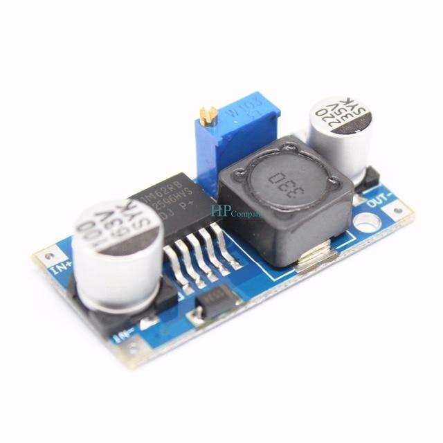 50 ADET 48 V ayarlanabilir voltaj regülatör modülü DC DC LM2596HVS Giriş 4.5 60 V
