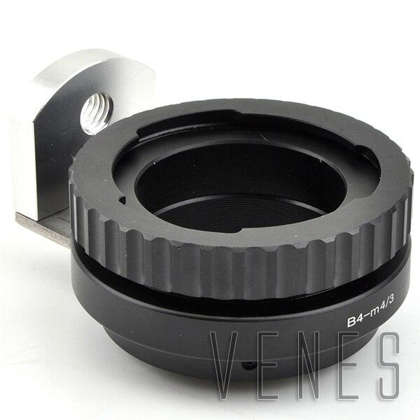 Objectif Adaptateur Costume Pour B4 2/3 Pour Canon Pour Fujinon ENG Lentille en Fonction de f ou Micro Quatre Tiers 4/3 Caméra