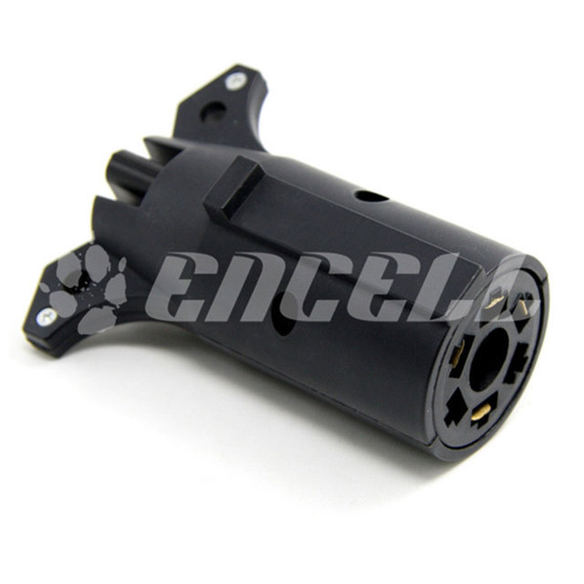 Encell USA 7 Pin Runde zu 4 Pin Anhänger Adapter auto Styling Motor ...