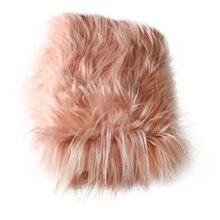 New Arrival! Acrylic 150x100cm newborn size faux fur basket stuffer newborn photography props blanket