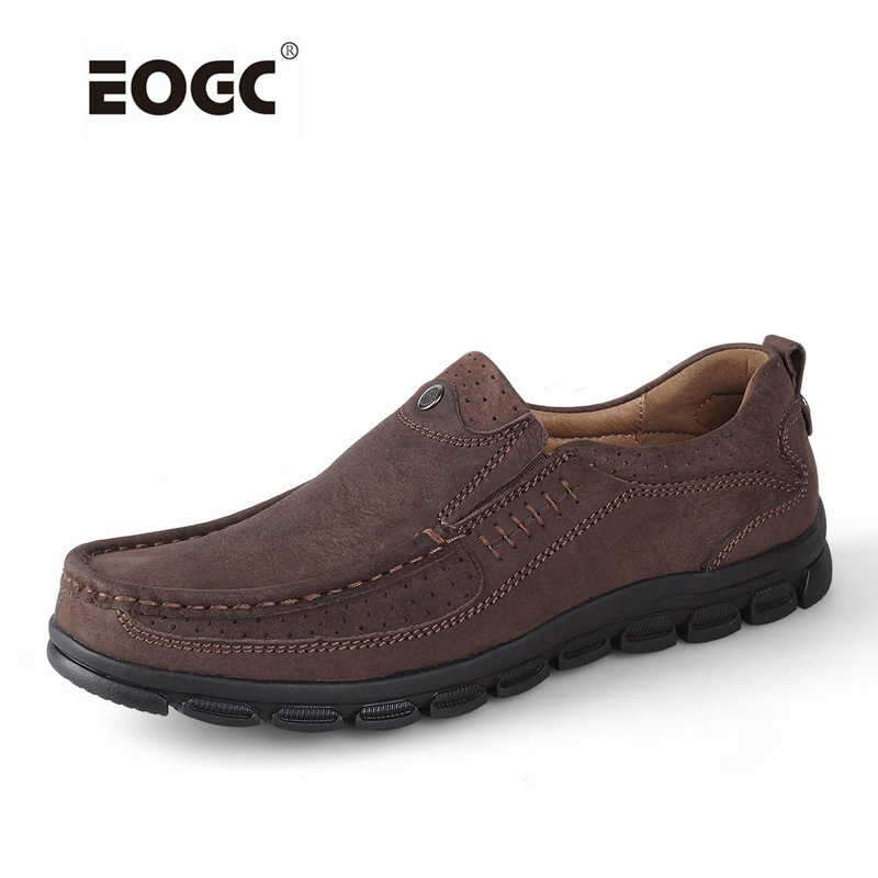 Genuine leather men flats shoes fashion men loafers ,handmade men casual shoes, Moccasins for men Zapatos Hombre new style comfortable casual shoes men genuine leather shoes non slip flats handmade oxfords soft loafers luxury brand moccasins