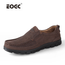 Genuine leather men flats shoes fashion men loafers ,handmade brand men shoes, Moccasins for men  Zapatos Hombre цена и фото