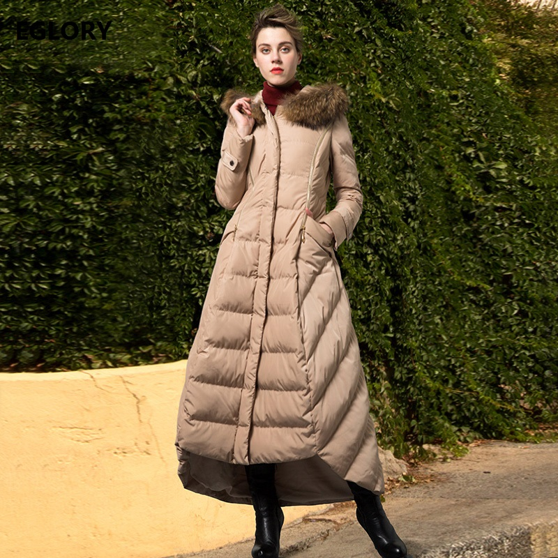 New Korean Clothing Winter Long Coats 2017 Women Hooded Fur Collar Plus Size XXXL Female Down Coat Parka Thick Warm Outerwear sonex kiara 1224 a