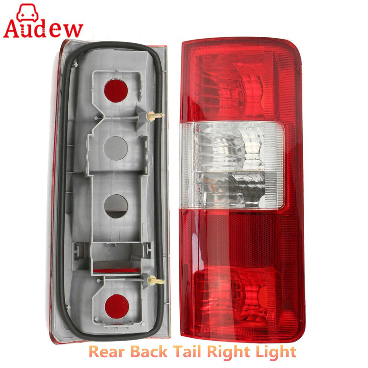 1Pcs Car Rear Backup Tail Lamp Light Lens Driver Left/Right Side For Ford Transit Connect 2002-2009 1 pc outer rear tail light lamp taillamp taillight rh right side gr1a 51 170 for mazda 6 2005 2010 gg