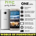 "Htc one m9 fábrica desbloqueado qualcomm octa core 3 gb de ram gorilla glass 20mp 5 ""FHD 1920*1080 4G TDD FDD LTE NFC Android Smartphone"