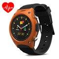 Eletrônica inteligente 2016 Inteligente Relógio Monitor de Freqüência Cardíaca Do Bluetooth Smartwatch Relógio de Pulso Com MTK2502C G-sensor de Bússola Relogio