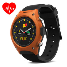 Smart Electronics 2016 Smart Bluetooth Watch Heart Rate Monitor Smartwatch Wristwatch With MTK2502C G-sensor Compass Relogio