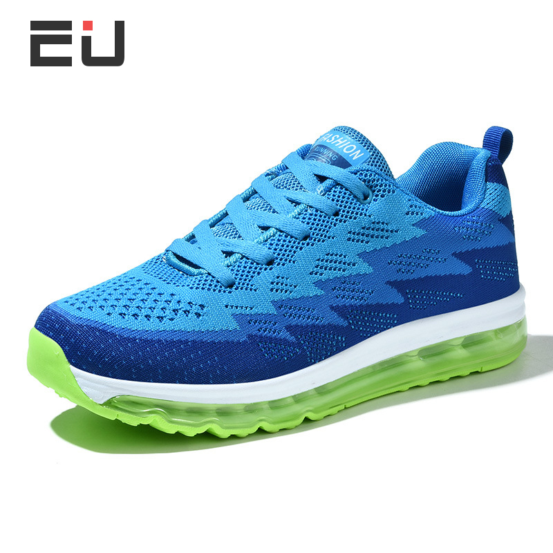 Unisex Air Mesh Breathable Running Shoes Men New Arrival Big Size Sports Shoes Men Outdoor Exercise Slip-On Sneakers