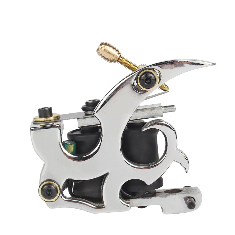 Professional Coil Manual Tattoo Machine Made By Aluminium Alloy Frame for Shade and Liner