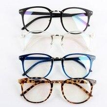 Стекол оптических прилив каркас стрелка круглые объектив металлический унисекс очки мода