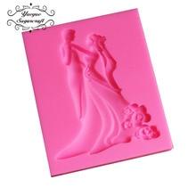 Wedding silicone mold