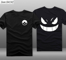 [Xinyu] Pokemon Go PIKA  Funny T-shirt and Men Summer T Shirts Cool TShirts in Cartoon Tee Shirt and Tops for Couples