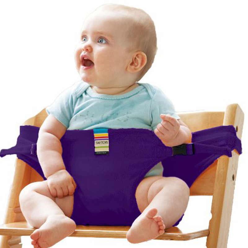Toy Infant Chair Seat Dining Lunch Chair Seat Safety Belt Stretch Wrap Feeding Harness Baby Booster Toys for Children Kids
