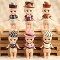 6 pcs tipos Anjos Sonny Boneca Mini Figura Laduree patrulha coleção Estatueta PVC Sonny Anjo pequeno Bonecas Brinquedos Para As Crianças Anime