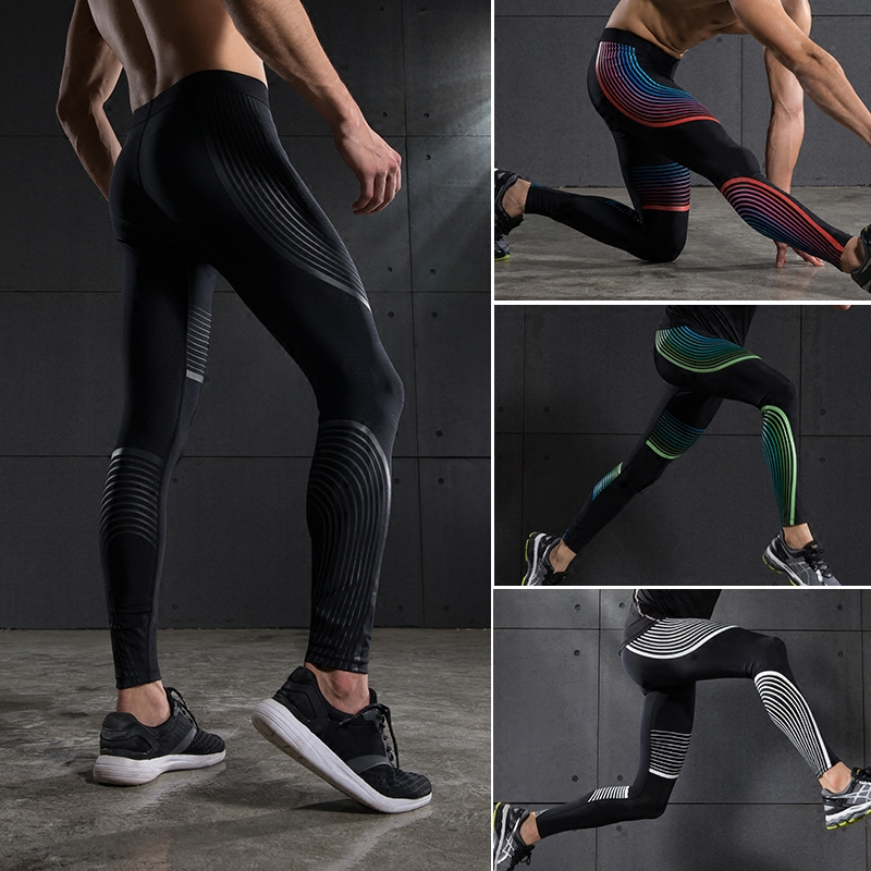 b9a1049acab76 2017 Men Running Jogging Sportwear Football Wicking Capri Leggings Trousers  Pants-in Running Pants from Sports & Entertainment on Aliexpress.com |  Alibaba ...