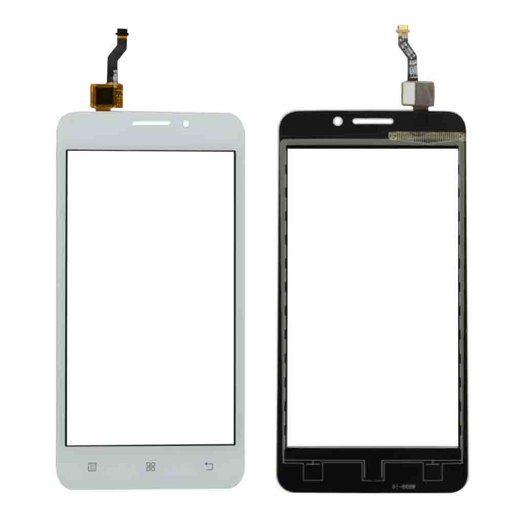 High Quality 5.0 For Lenovo A3600 A3800 Touch Screen Digitizer Sensor Front Glass Lens Panel Black White+Tracking Code