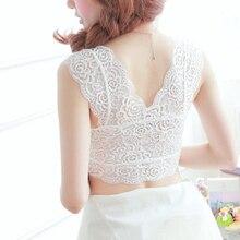 Fashion Trendy  Women Charming Black White  Bustier Cropped Vest Short Tops