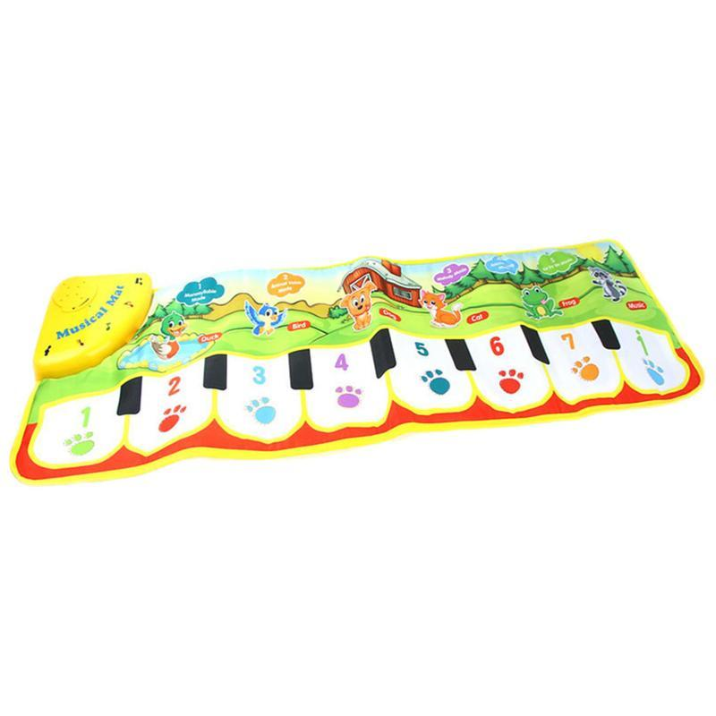 Educational Toys Early Childhood Education Crawling Can Touch Blanket Hand And Foot Piano Blanket