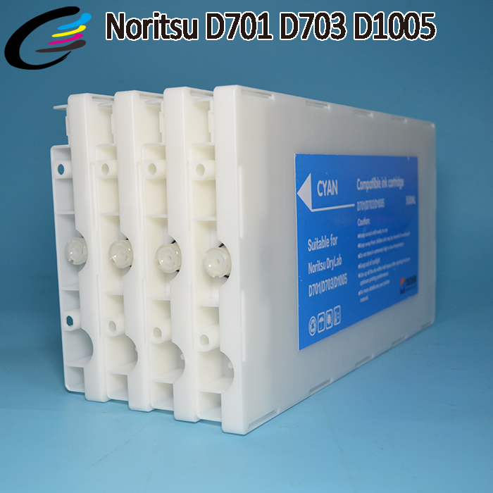 500ML Refilled Ink Cartridge with Ink for Noritsu D701 D703 D1005HR500ML Refilled Ink Cartridge with Ink for Noritsu D701 D703 D1005HR