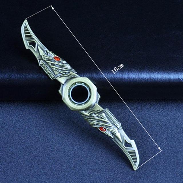 Peradix Fidget Spinner Batman Hand Spinner Rotatable Darts Rotating Darts Tri Fidget Bearing