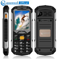 Gooweel GW2000 Mobile Phone Long Standby Dual Sim Card Flashlight Power Bank FM Radio Loud Speaker