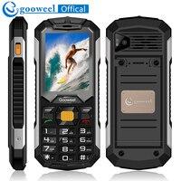 Gooweel GW2000 Mobile Phone Long Standby Dual Sim Card Flashlight Power Bank FM Radio Loud Speaker