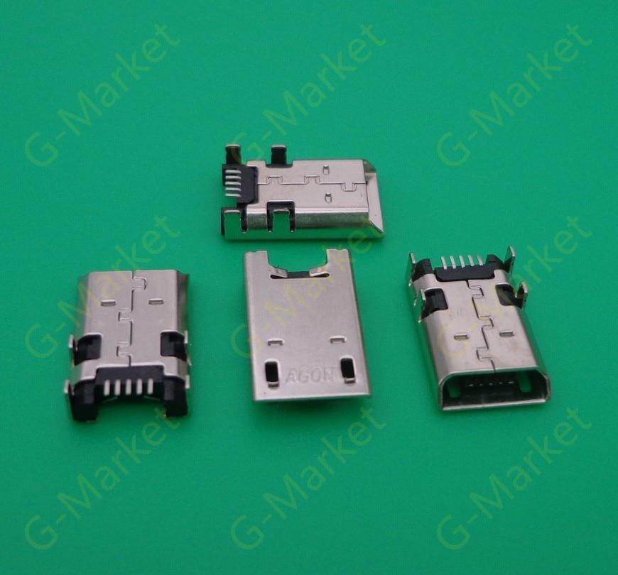 5pcs/lot For Asus Memo Pad FHD 10 ME302KL Mobile High Quality Micro Mini USB Charging Data Sync Port Jack Socket Connectors
