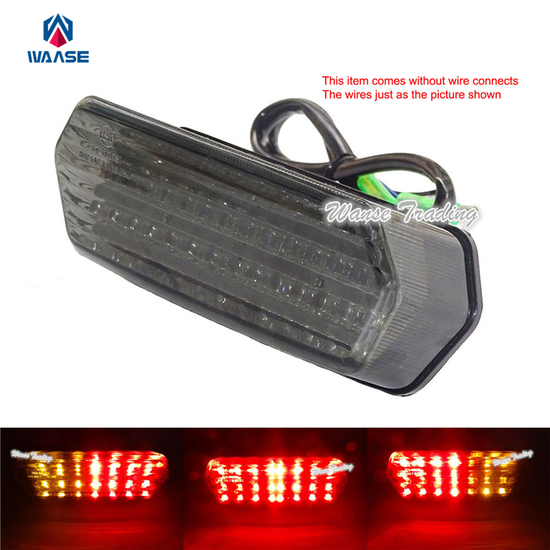 цена на waase Tail Brake Turn Signals Integrated Led Light Lamp For 2014-2018 Honda CB650 CBR650 CB650F CBR650F CB CBR 650F RC74 RC75