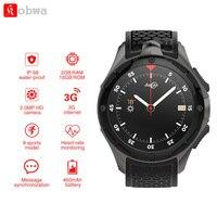 KOBWA AllCall W2 3G WCDMA Android 7,0 4 ядра Смарт часы 1,39 ''HD Экран 2 г 16 г памяти gps Wi Fi пульса Bluetooth 4,0