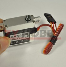 KINGMAX CNC aluminium hulls and structure, metal gears mini wing servo