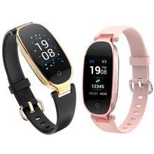 S3P Lady watch Female Smart bracelet Watch Men heart rate wristband Fitness tracker smart band sport Pk miband